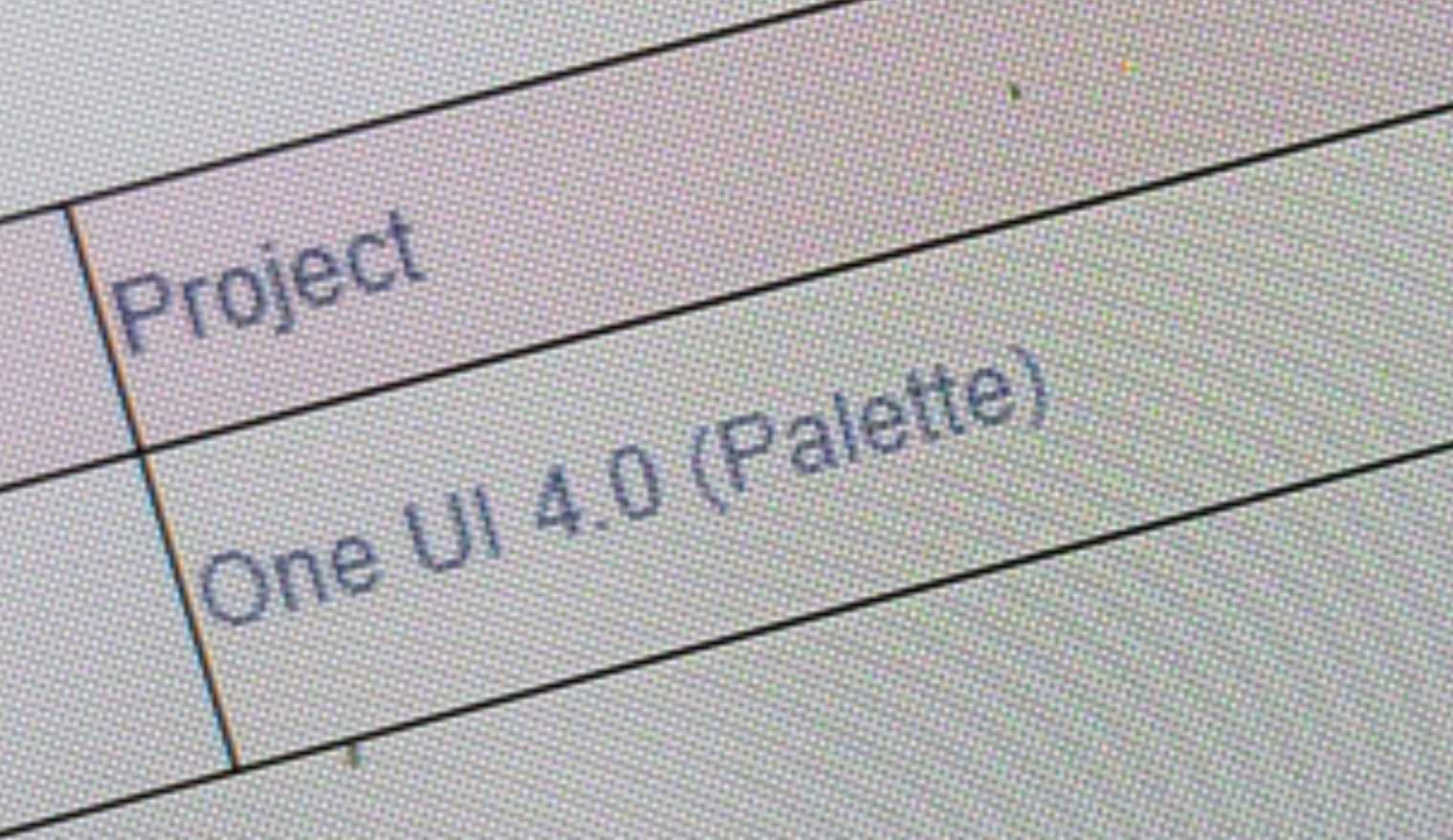 samsung one ui 4.0 android 12 palette