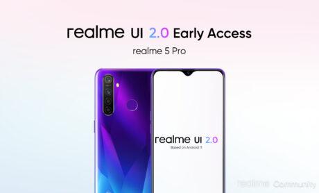 Realme 5 pro narzo 30 5g 3a android 11 realme ui 2 0 beta registrazione feat