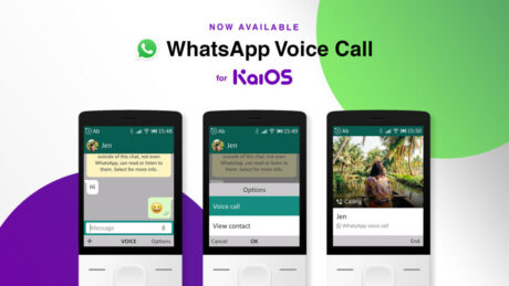 whatsapp kaios chiamate vocali supporto ufficiale