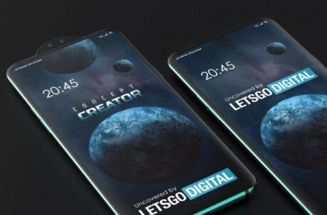 smartphone xiaomi popup circolare