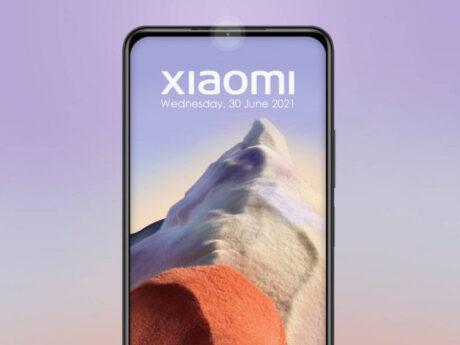 xiaomi smartphone fotocamera cornice brevetto