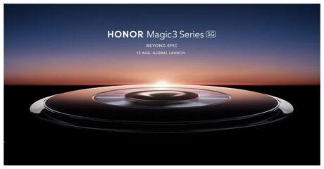 Honor Magic 3 lancio