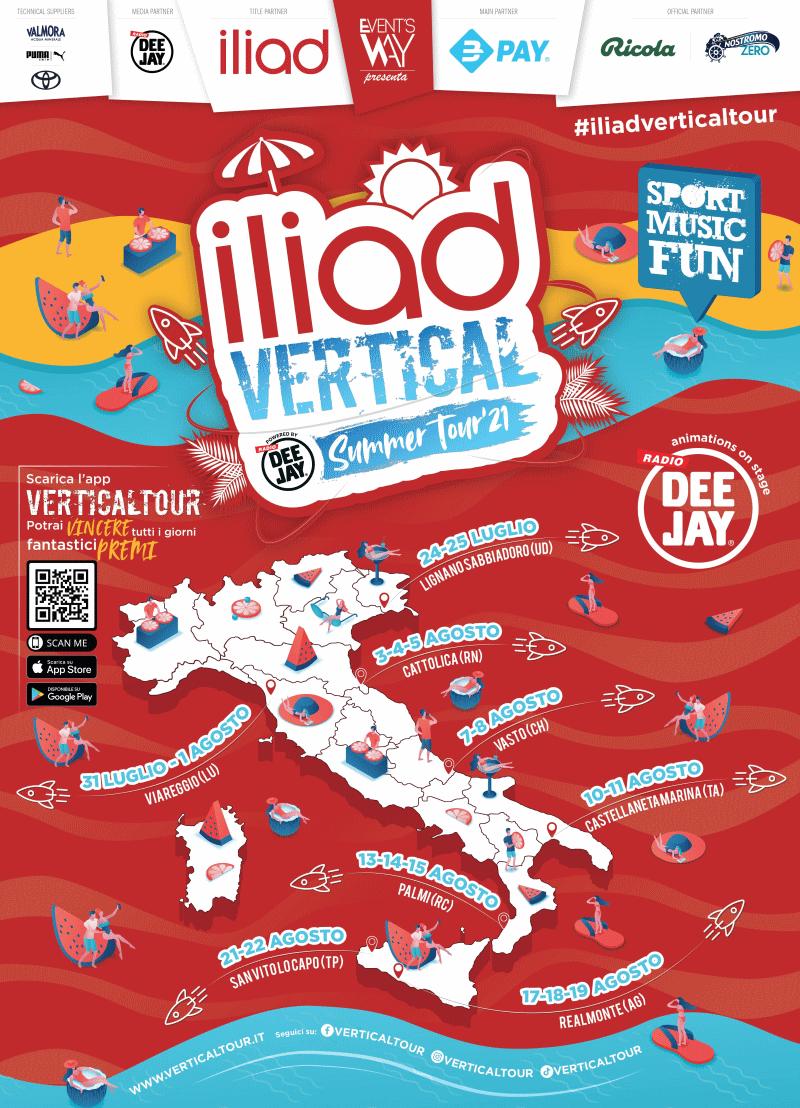 Iliad Vertical Summer Tour 2021