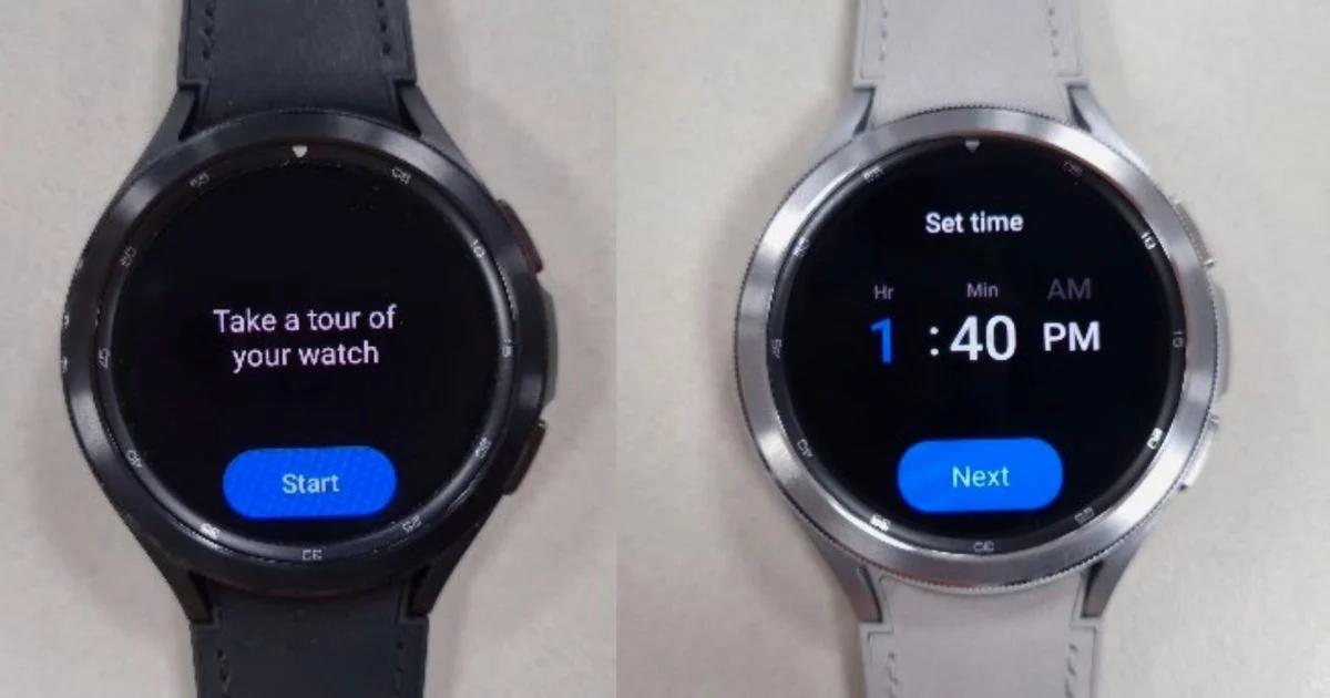 foto leak Samsung Galaxy Watch 4 Classic