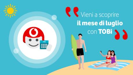 Vodafone Tobi Luglio 2021