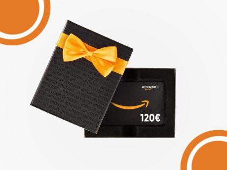 Buono amazon 120 euro regalo