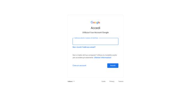 Come accedere a Gmail dal PC