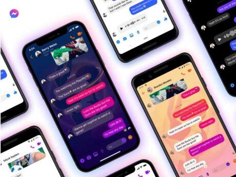 facebook messenger emoji tema chat novità