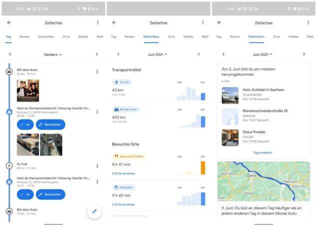 google maps insight rollout