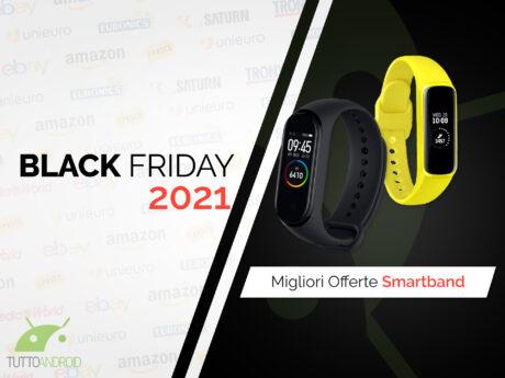 offerte black friday 2021 smartband