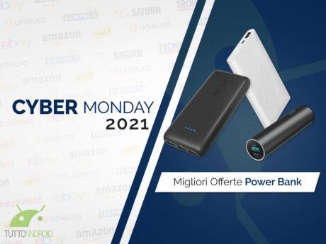 Offerte cyber monday 2021 powerbank