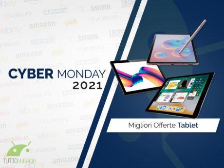 Offerte cyber monday 2021 tablet