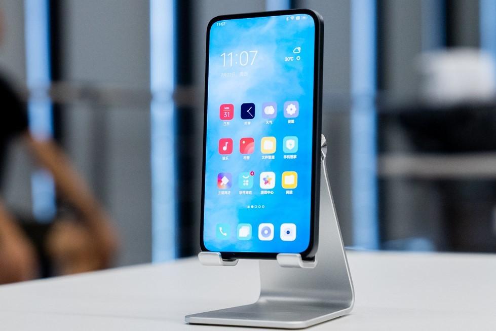 OPPO prototipo con Under Screen Camera