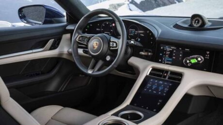 Android Auto Porsche Taycan 2022
