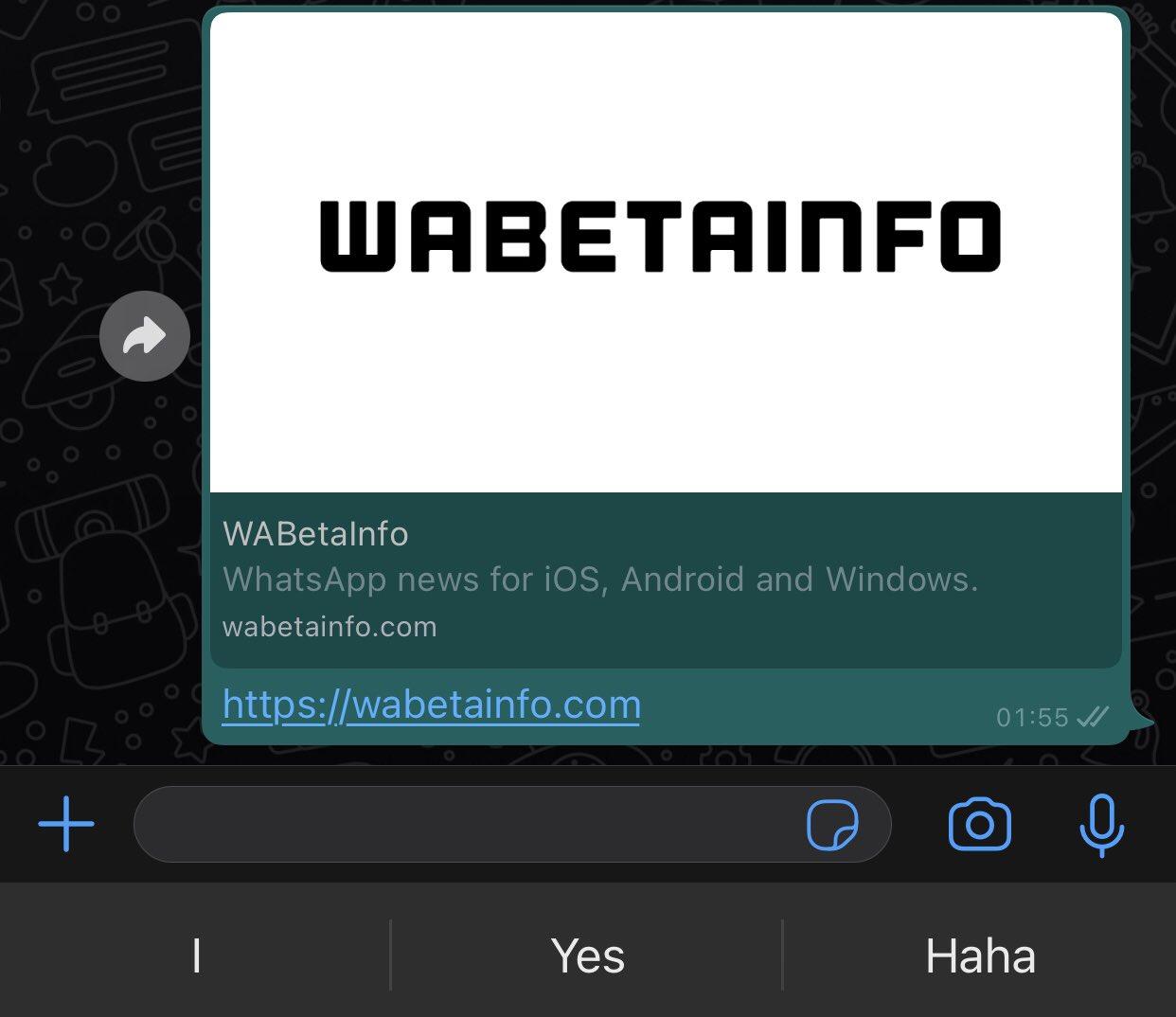 whatsapp beta anteprima link