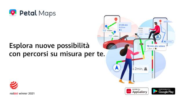 huawei petal maps red dot design award premio 2021