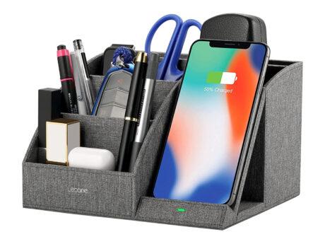 offerta amazon accessorio caricabatterie wireless smartphone
