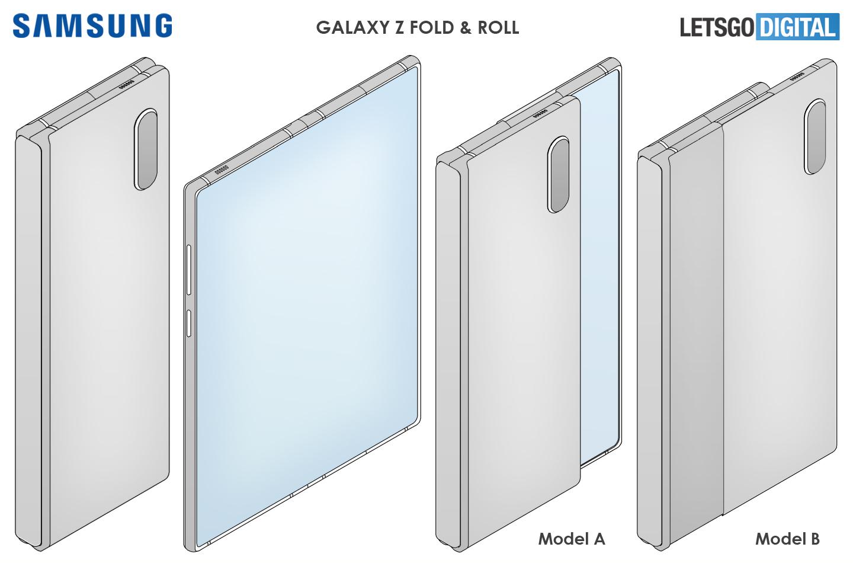 samsung galaxy fold roll 1