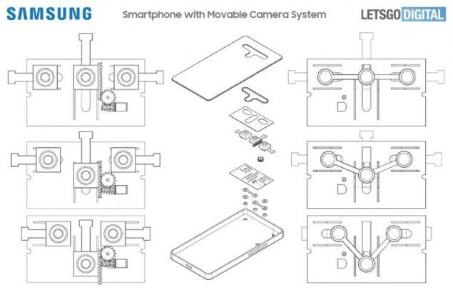 samsung galaxy fotocamera apertura variabile brevetto