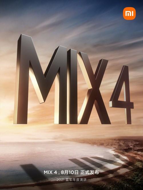 xiaomi mi mix 4 display flessibile fotocamera