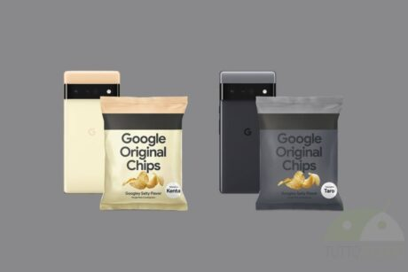 google pixel 6 original potato chips