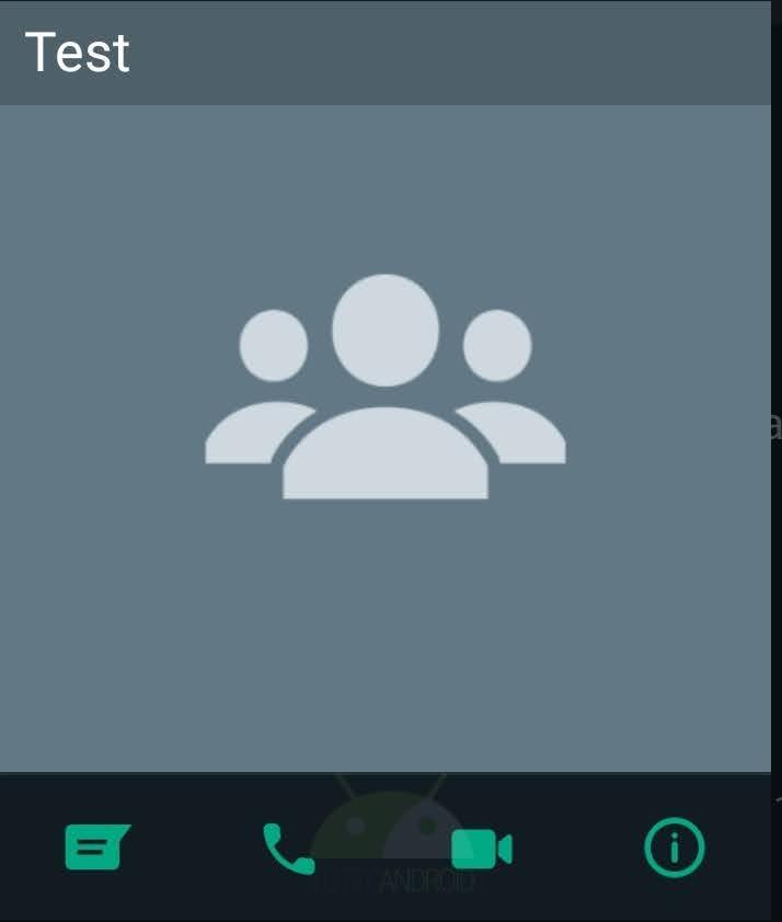 whatsapp beta gruppi chiamate videochiamate scorciatoie