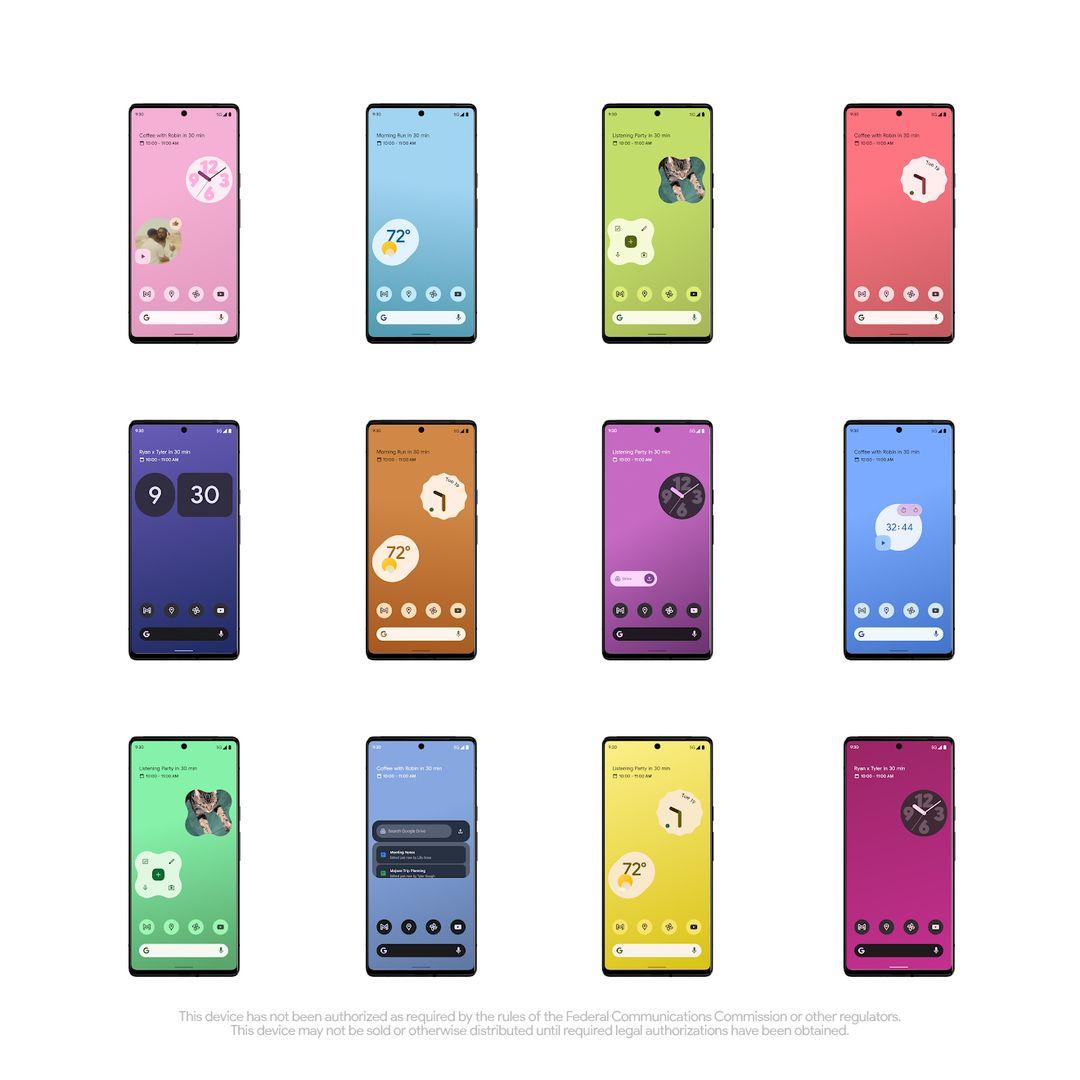 Google Pixel 6 temi