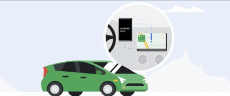 Google Android auto elettrica
