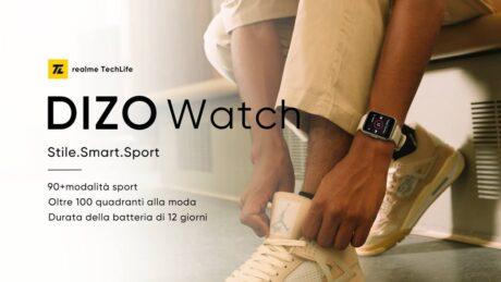 DIZO Watch CV AA