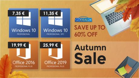 GD24 Autumn sale