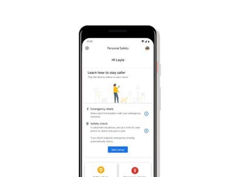 Emergenze personali google pixel registrazione video feat
