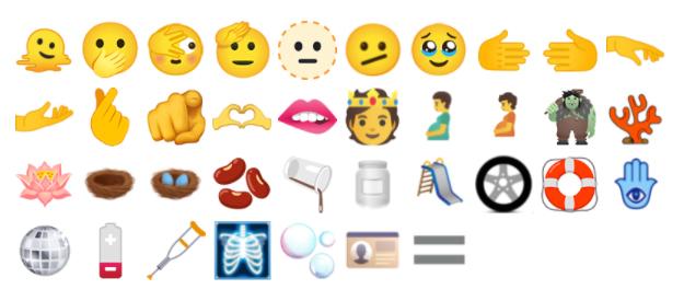 emoji Unicode 14.0