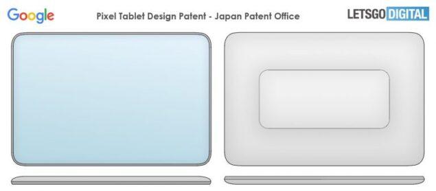 google pixel tablet brevetto
