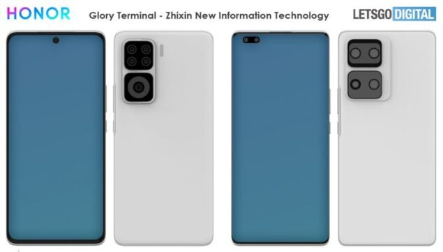 huawei honor smartphone conchiglia display avvolgente leak brevetto