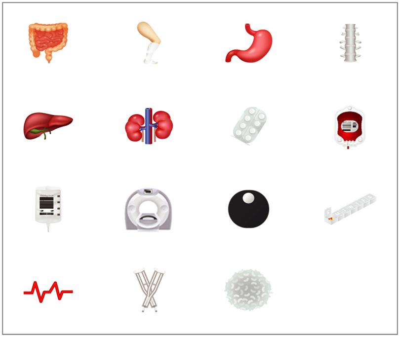 nuove emoji mediche proposte