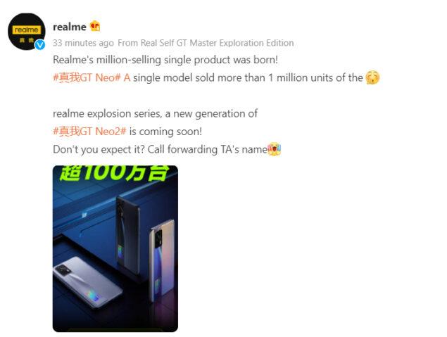realme pad 8i gt neo2 design specifiche novità