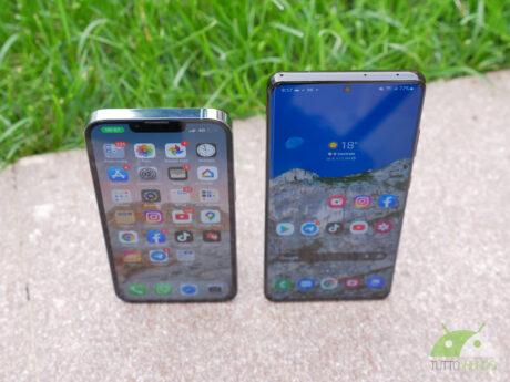 Samsung galaxy s21 ultra iphone 13 pro
