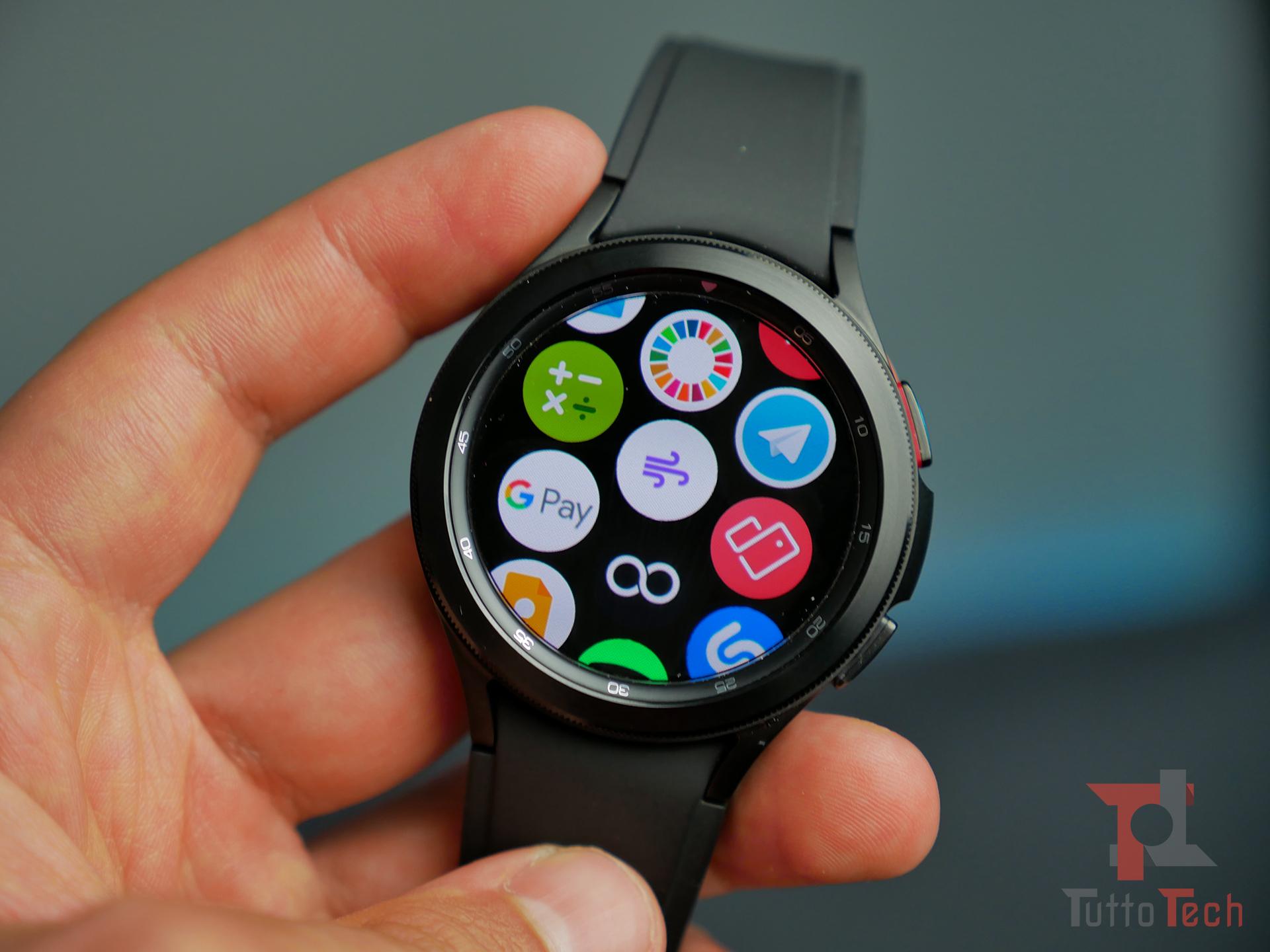 Un aggiornamento dell'app Samsung Heal …