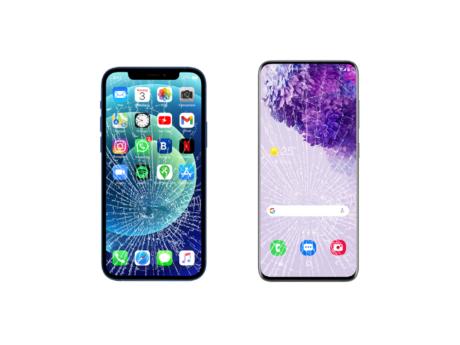 Smartphone rotti