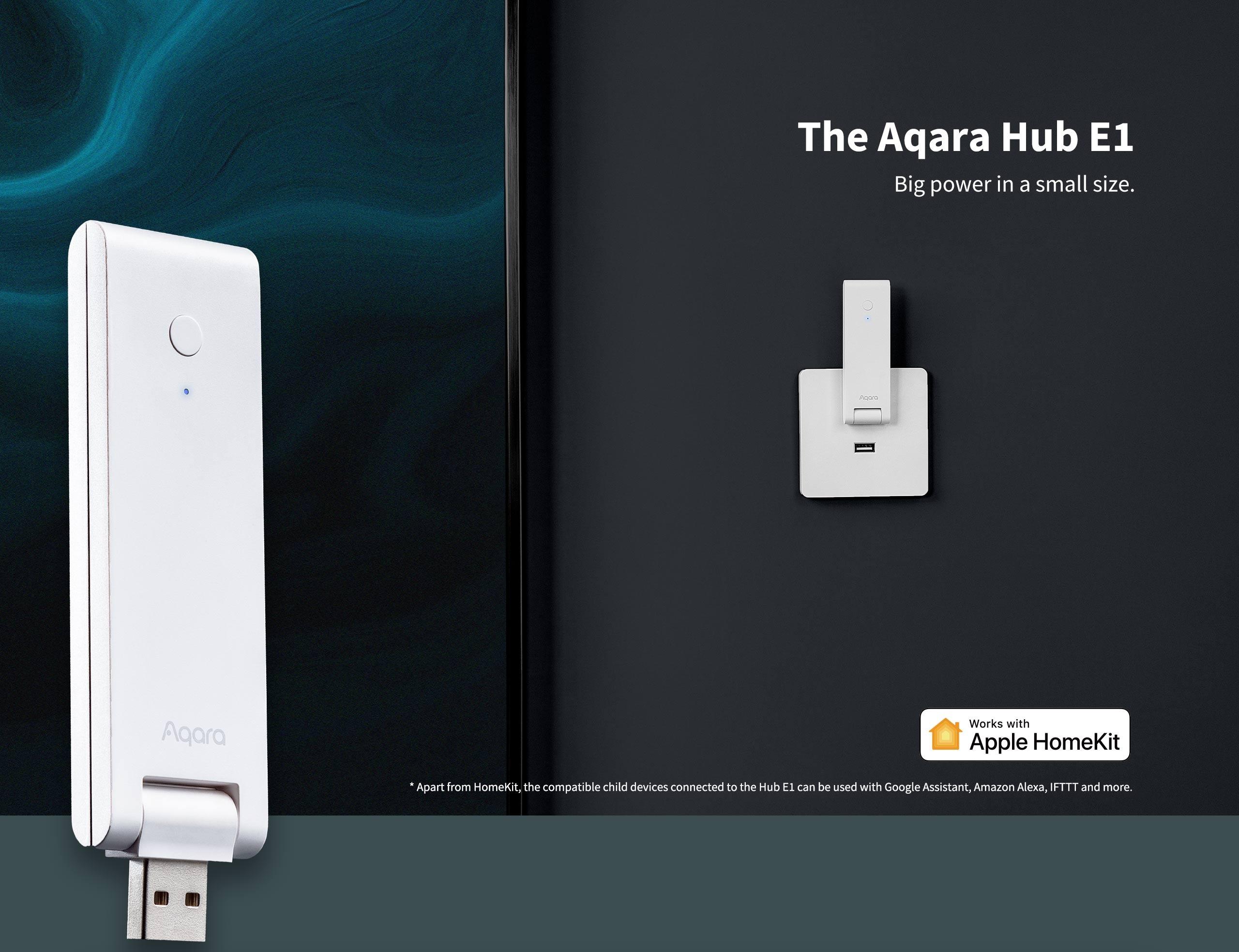 Aqara Hub E1 è il nuovo hub Zigbee alimentato via USB