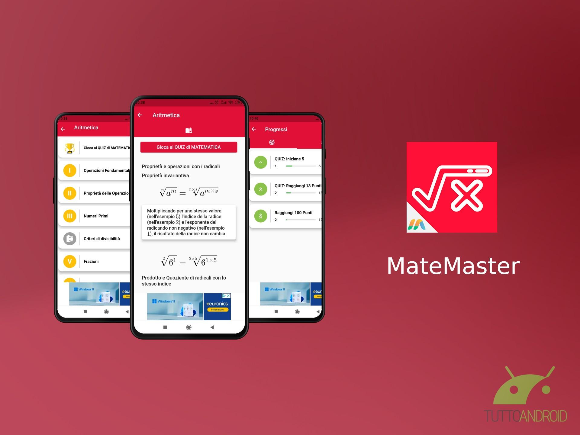 MateMaster è uno strumento utile per imparare la matematica