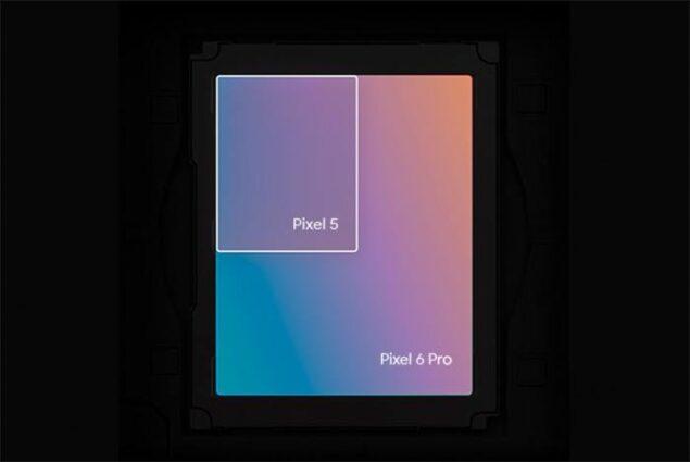 Pixel 6 pro sensore