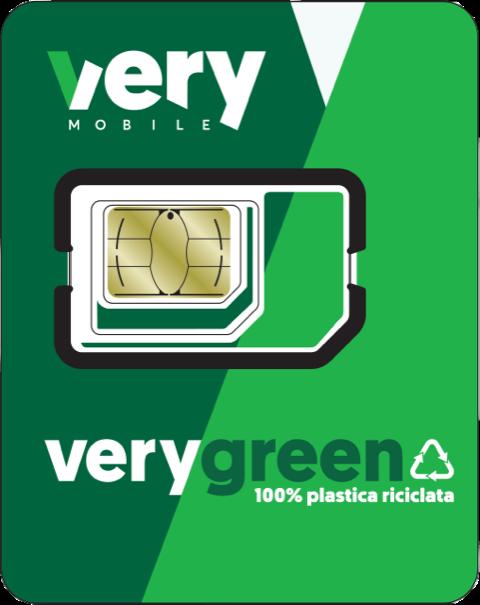 Very Mobile SIM green