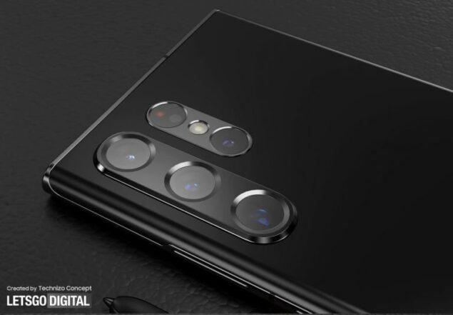 samsung galaxy s22 ultra design concept fotocamera