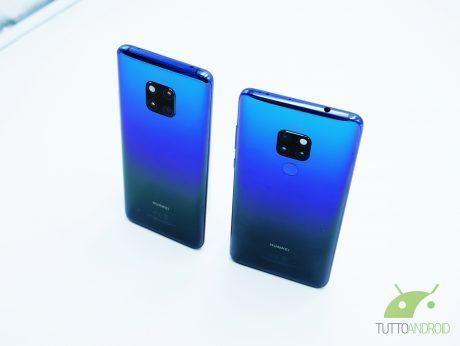 Richard Yu a ruota libera su Huawei Matw 20, nano memory e s