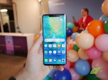 Huawei mate 20 pro anteprima londra