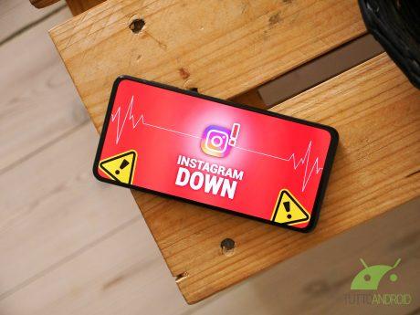 Instagram down non funziona malfunzionamento