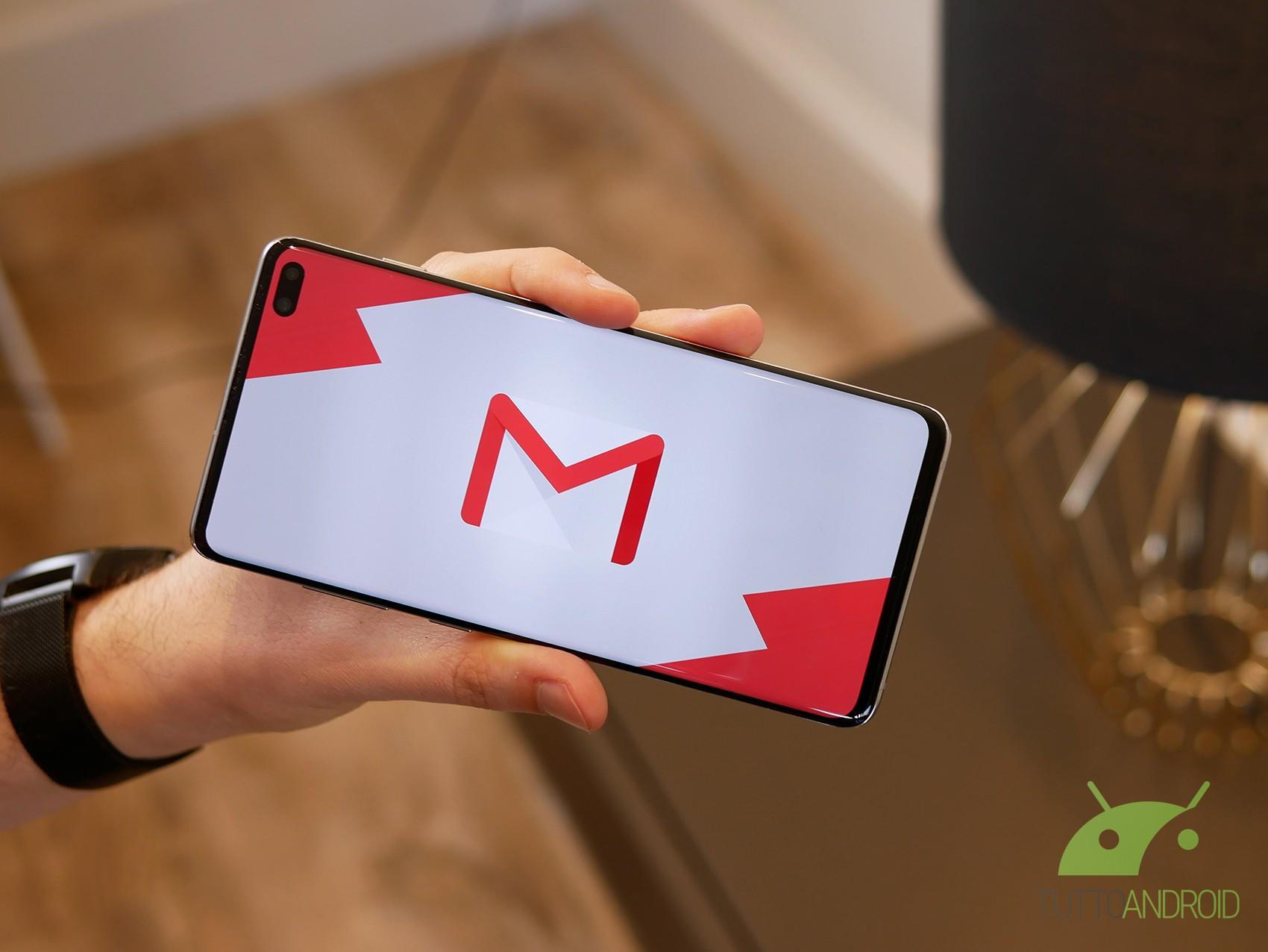 Ci sono grandi novità per la ricerca su Gmail e l'upload su