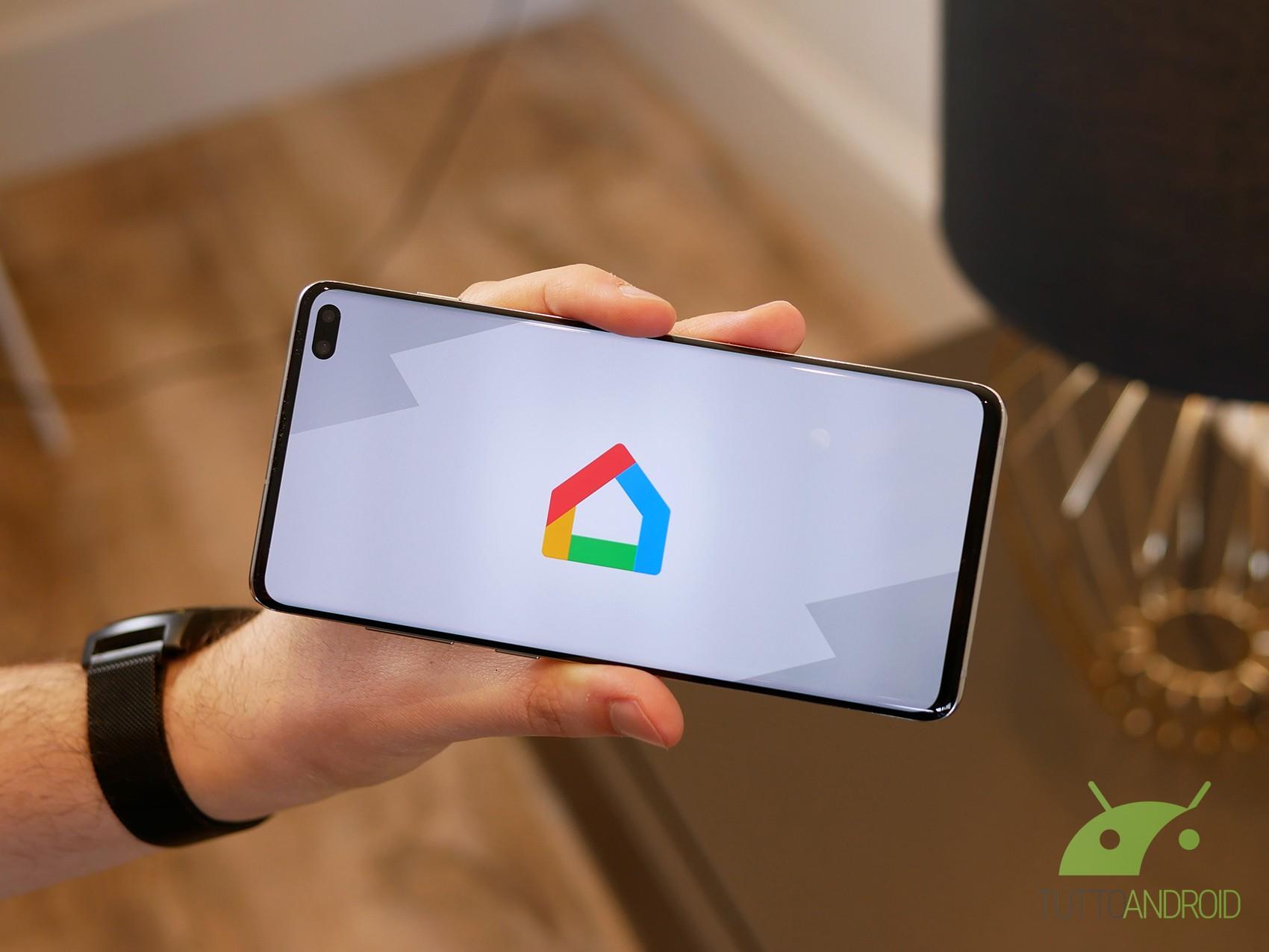 L'app di Google Home si aggiorna e presenta molte novità