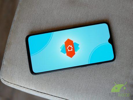 Logo nova launcher 2019